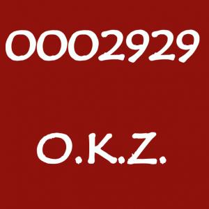 """[O.K.Z.] """"0002929""""公開"""